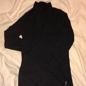 Black long sleeved turtleneck